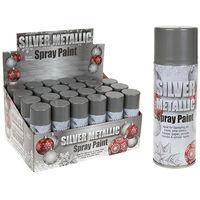Metallic Spray Paint 250ml Silver
