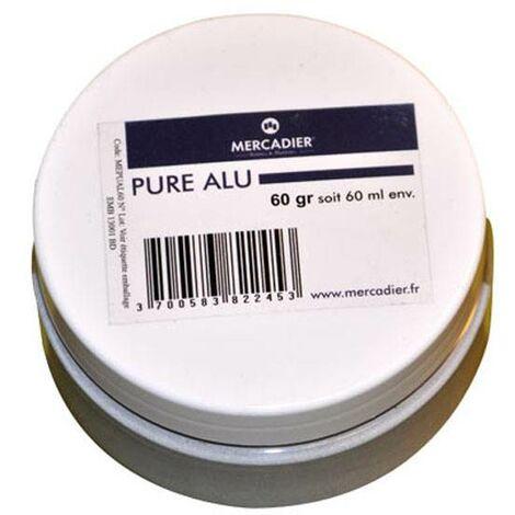 Métallisation à froid - Mercadier - Pure Métal - Aluminium - 60ml env
