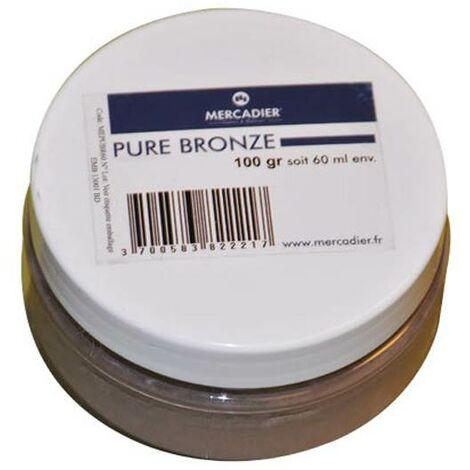 Métallisation à froid - Mercadier - Pure Métal - Bronze - 60ml env