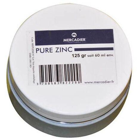Métallisation à froid - Mercadier - Pure Métal - Zinc - 60ml env