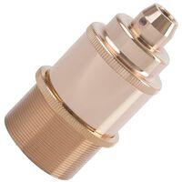 Metallisierte Lampenfassung Design für LED Lampen E27