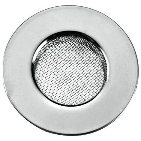 METALTEX - Grille tamis fin pour évier D : 7.5 cm - inox