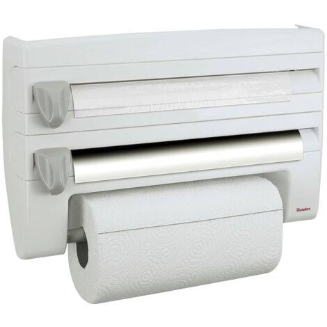 Metaltex Kitchen Roll Holder Roll 'n roll - White