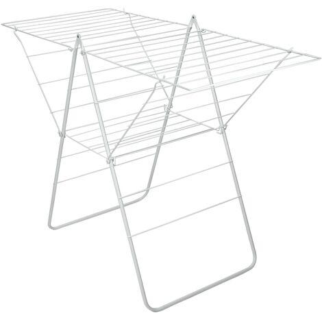 Metaltex Support de séchage à ailes Rotterdam 22 m