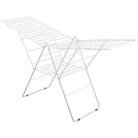 Metaltex Wing Drying Rack Amsterdam 32 m - White
