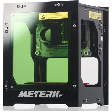 Meterk DK-BL petite machine de gravure Bluetooth bricolage prend en charge la connexion USB pour la gravure sur ordinateur 1500 mW