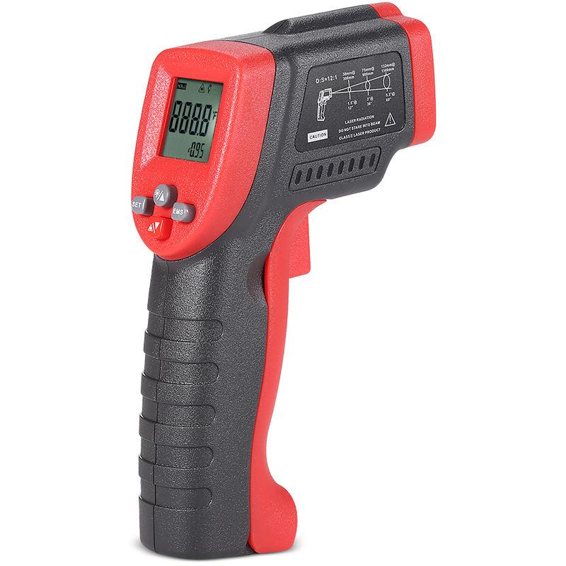 Meterk MK420 50 ~ 420 ¡ã C 12: 1 multifonctions Mini portable sans contact Thermometre infrarouge IR LCD numerique de testeur de temperature