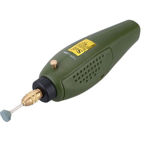 Meterk Professional Super Mini Juego de pulido electrico, herramienta de amoladora de taladro de 12V DC