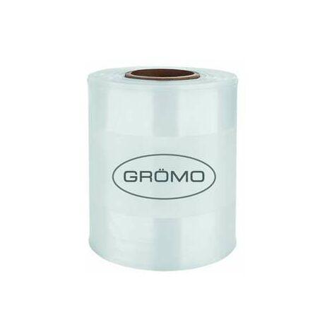 """Meterware GRÖMO Fallrohrprovisorium mit Aufdruck """"Grömo"""" transparent, 50920"""