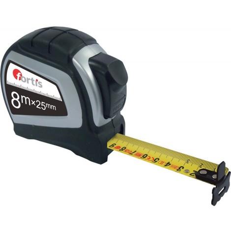 Mètre a ruban 8m x 25mm FORTIS