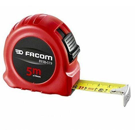 Mètre à ruban double face boitier ABS FACOM 5m x 19mm - 893B.519PB
