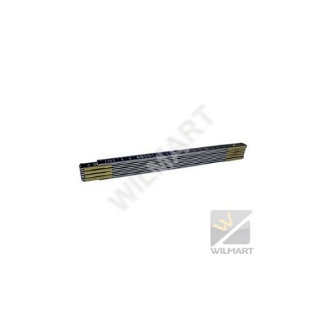 Mètre aluminium noir ineffaçable 0622 20