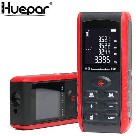 "main image of ""Mètre laser Huepar 60 Mètre"""