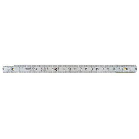 Mètre pliant ALU KS, L, 2 m