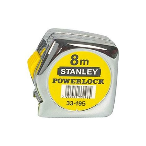 Mètre Powerlock Classic STANLEY 10 m x 25 mm -1-33-442
