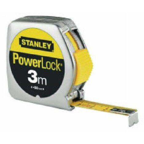 Mètre Powerlock Classic STANLEY 3m x 12.7mm - 1-33-218