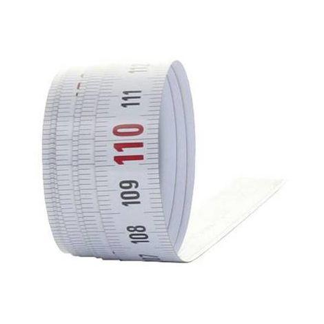 Mètre-ruban 1 m HEDÜ X110 auto-adhésif acier 1 pc(s)
