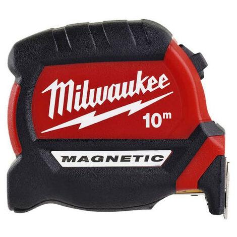 Mètre ruban 10m MILWAUKEE - Magnetic 27mm 4932464601