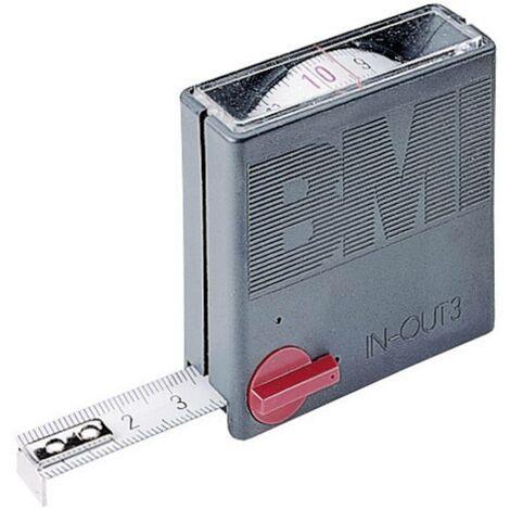 Mètre-ruban 3 m BMI 404351030 acier 1 pc(s)
