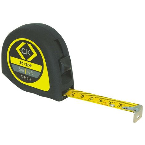 Mètre-ruban 3 m C.K. T3442 10 acier 1 pc(s)
