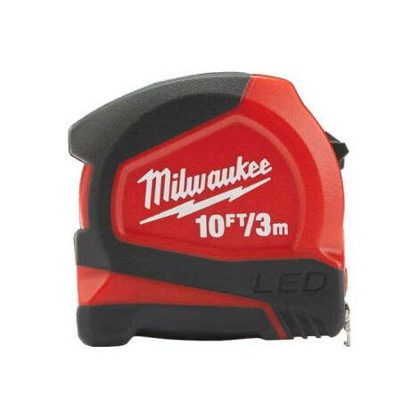 Mètre ruban 3m MILWAUKEE - compact 12mm 48226602