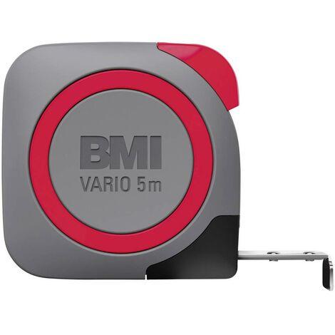 Mètre-ruban 5 m BMI 411541820-EGI acier 1 pc(s)