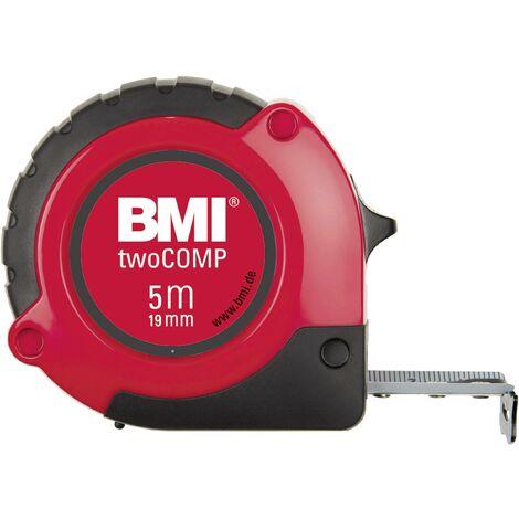Mètre-ruban 5 m BMI 472541021M acier 1 pc(s)