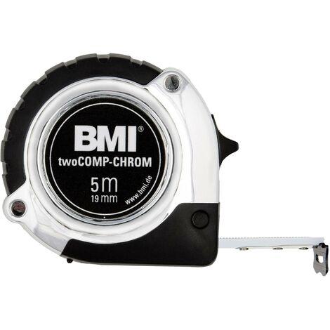 Mètre-ruban 5 m BMI 475541221 acier 1 pc(s) R326571