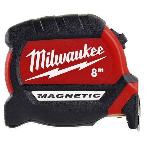 Mètre ruban 8m MILWAUKEE - Magnetic 27mm 4932464600