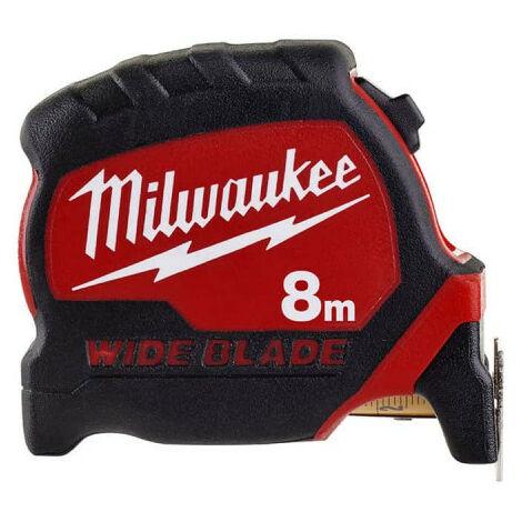 Mètre ruban 8m MILWAUKEE - Wide Blade 33mm 4932471816
