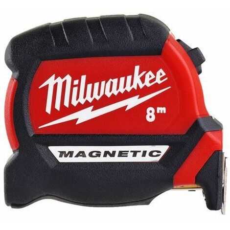 Mètre ruban 8M Premium Magnétique Gen 3 MILWAUKEE ACCESSOIRES - 4932464600 - -