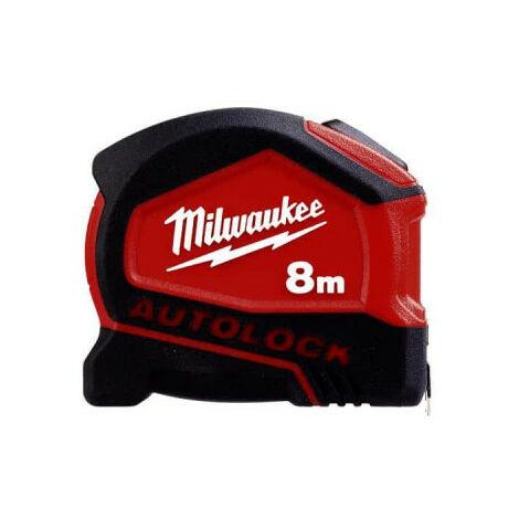 Mètre ruban Autolock MILWAUKEE 8m - 4932464664