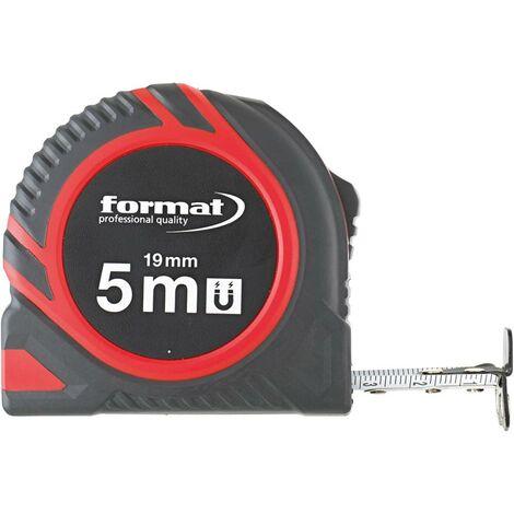 Mètre-ruban de poche 8mx25mm aimant FORMAT 1 PCS