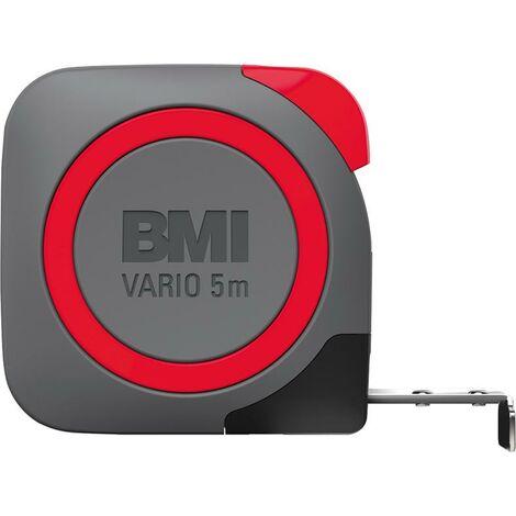 Mètre-ruban de poche Vario EGI 3mx13mm blanc BMI 1 PCS