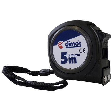 Mètre ruban DIMOS L.5 m double graduation - 155608