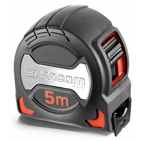 Mètre ruban Premium grip FACOM 5m x 28mm - 897A.528PB
