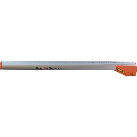 Mètre télescopique mEssfix compact plage de mesure 0,6 - 3,04 m L. 0,6 m 0,9 kg