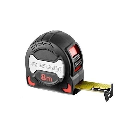 Mètres à ruban Premium boîtier Grip Facom 897A (mesure 5m - largeur ruban 28mm)