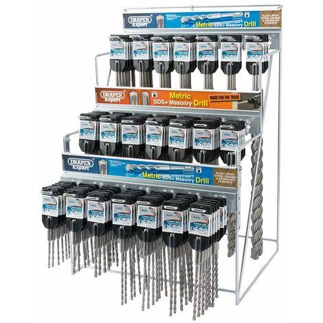 Metric SDS+ Drill Bit Merchandiser (137 Piece) (64049)