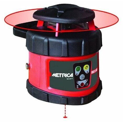 Metrica - Niveau laser rotatif automatique portée 500 m IP64 - 60719