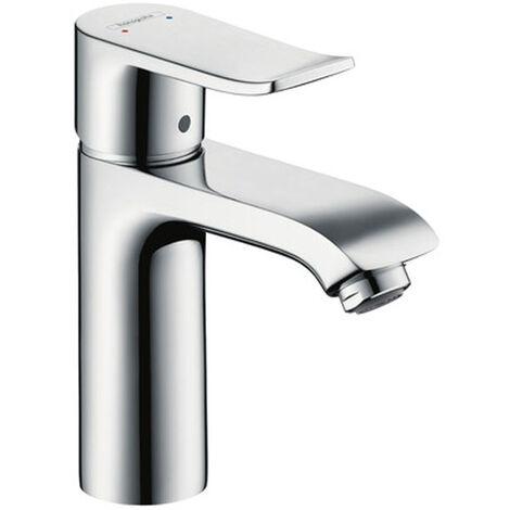 Metris 110 Mitigeur lavabo sans tirette ni vidage chromé