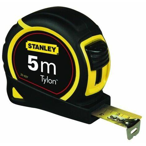 "main image of ""Metro flessibile flessometro misurazione utensile rullina tylon stanley 5 metri"""