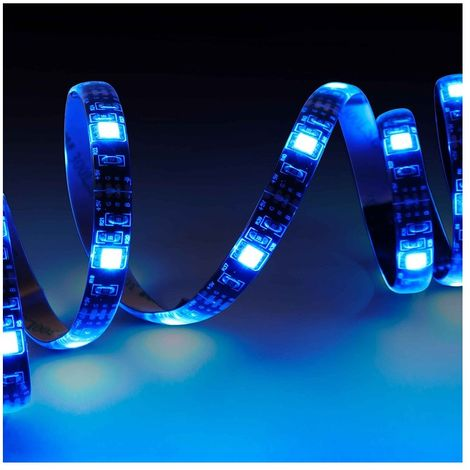 "main image of ""Metronic 451143 - Tira LED ""XL"" para TV de 50 a 65 pulgadas, multicolor"""
