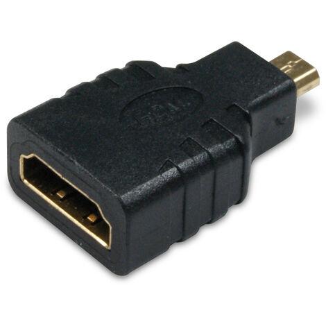 Metronic - Adaptador HDMI / micro HDMI- Hembra/Macho