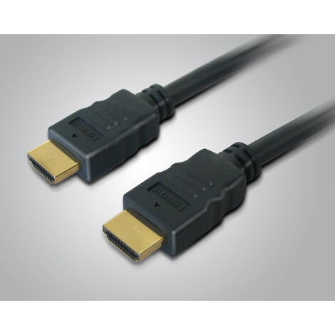 Metronic - Cable HDMI 1.4 macho / macho HIGH SPEED blindado con ferrita 3mts negro