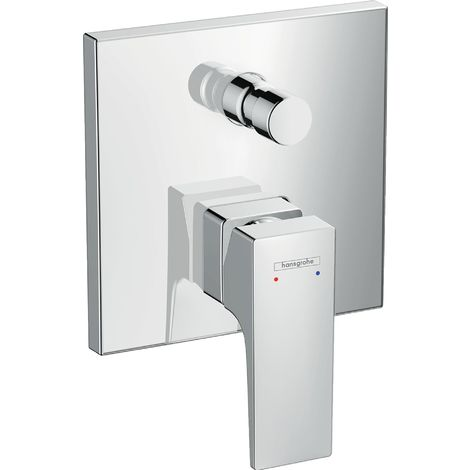 Metropol Single lever bath mixer for concealed installation with lever handle, chrome (32545000)