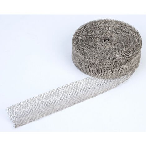 Mettex MKM 1 Inch Knitted Wire Mesh Tin Plated 1in. 10m Reel