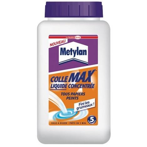 METYLAN - Colle liquide Max papiers peints - 450 mL