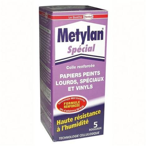 METYLAN - Colle renforcée papiers peints lourds - 200 g