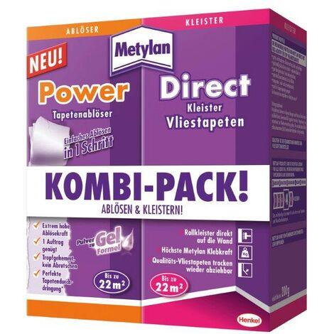 Metylan Kombi-Pack 2 in 1 2x 200g, Metylan Tapetenlöser & Vliestapetenkleister